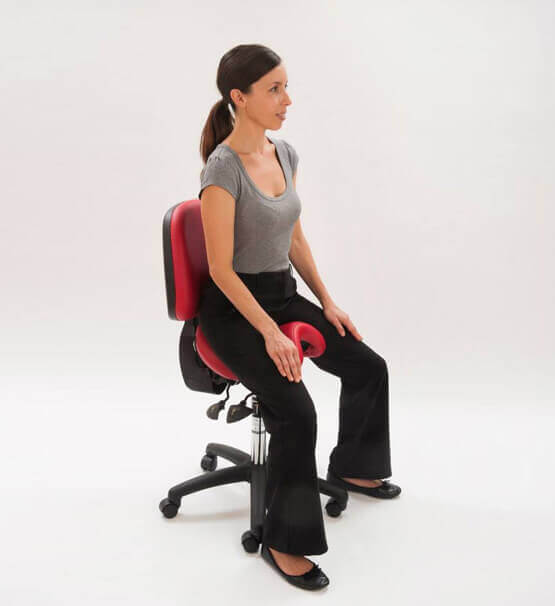 Bambach saddle seat for back support