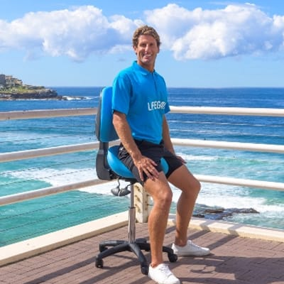 Bambach saddle chair for wellness