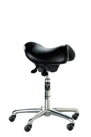 Bambach Saddle Seat Executive No Back Ergonomic Chair