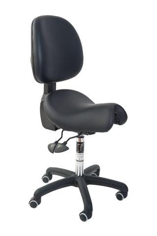 Bambach Saddle Seat Executive Bambach with Back Ergonomic Chair
