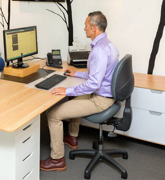 Bambach original saddle chair for corporate