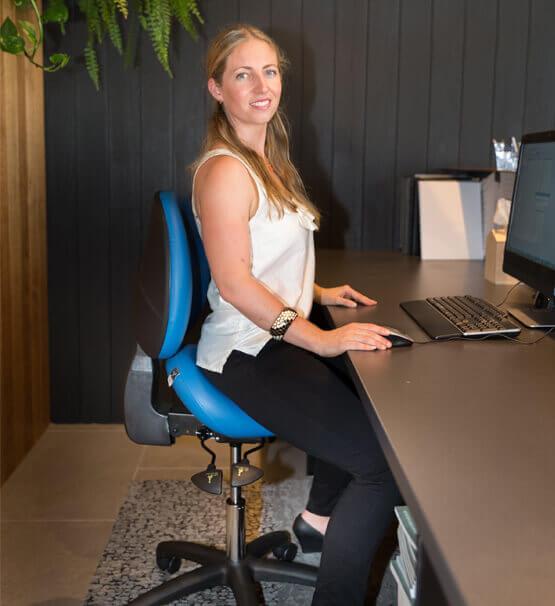 Bambach original saddle seat for corporate