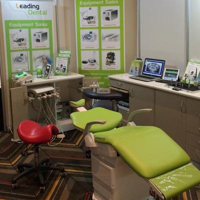 Bambach saddle stool for dental practice