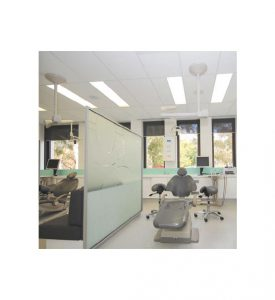 Ergonomic saddle stool for dentistry