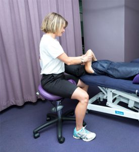 Bambach seating solution for back injury
