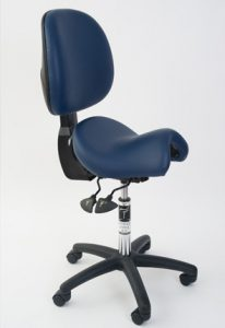 Ergonomic seating solution for health professionals