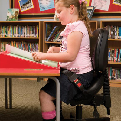 Bambach saddle chair for special needs