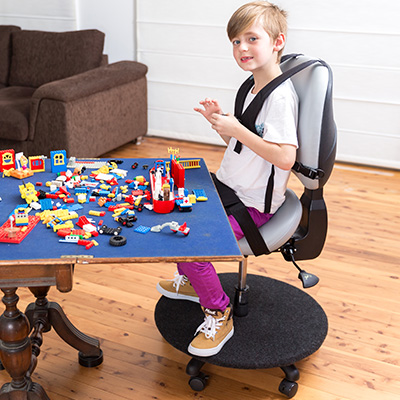 Saddle seat for special needs