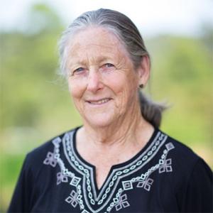 Mary Gale, the Bambach Saddle Seat designer