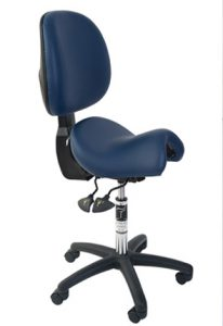 Ergonomic office chair with back support